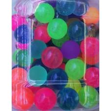 """Мяч-прыгун 2,7 см """"Разноцветный"""" (140 шт. в пакете) (Арт.525-28), без ИС, кратно 140"""
