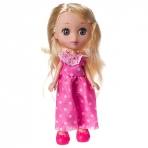 Кукла Катенька 16,5 см,  РАС 11х23 см, 2 вида,  арт.M6624.
