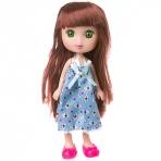 Кукла Катенька 16,5 см,  РАС 11х23 см, 2 вида,  арт.M6625.