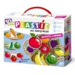 """Пластик на липучках """"Фрукты и овощи"""" 10KOR PLASTIC"""