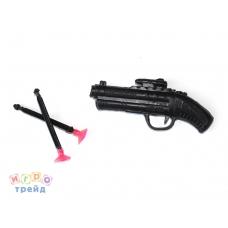 Пистолет (патроны с присосками) F50 в/п 11,5*5*1 см