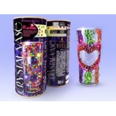 Набор креативного тв-ва Crystal Vase Ваза своими руками c кристалами