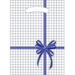 """Пакет  вырубной """"Синяя клетка"""" (22*30 см) Мини одностор ВНР00073"""
