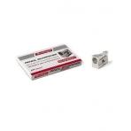 Точилка Berlingo металлическая аллюминий с 1-м отверстием ECONOMY 24шт в картонном пенале (без штрихкода)