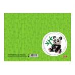 Доска для лепки Hatber А5ф Пластиковая-Панда-