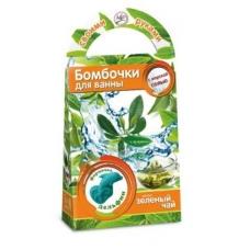 Бомбочки для ванны своими руками Зеленый чай