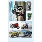 Наклейки  Мотоциклы 4-10-0103