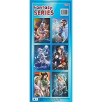 Наклейка 6шт лист 80х190мм серия -Fantasy SERIES-