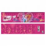 Закладка-линейка Розовая 5-04-227