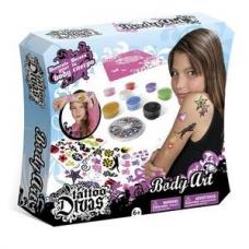 7352пц Набор Tattoo Divas для создания татуировок (81 предмет в наборе)