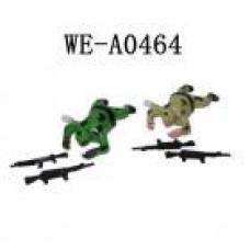 8025A Солдатик заводной, в ассортименте 2 вида, в пакете, 7х4,5х2,5см