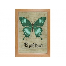 Набор для вышивания с рамкой 102-EF Бабочка