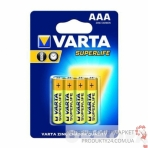 Батарейка VARTA SUPERLIFE AAA бл.4 (рус.)