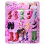 Набор обуви для кукол 12 пар, блистер