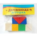"""ДЕРЕВЯННАЯ ИГРУШКА. РАЗВИВАЮЩИЙ НАБОР """"12 треугольников"""" (Арт"""