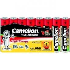 Батар. АА алкалин. Camelion Plus (Alkaline LR06 SP8, 1,5V), цена за 1 батар.