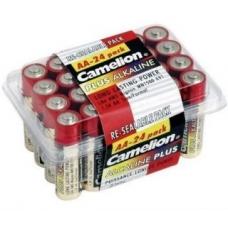 Батар. АА алкалин. Camelion Plus (Alkaline LR06-24BP, 1,5V), цена за 1 батар.