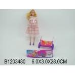 Беременная кукла (28см) Красавица-мама 3 (с аксесс.) (арт. 1203480)
