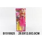 Беременная кукла (28см) Модная мама 3 (с аксесс.) на картоне (арт. 1518925)