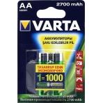 Аккумуляторы VARTA Professional Acc u 2 AA 2700 mAh