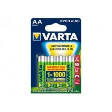 Аккумуляторы VARTA AA 2700мАч (рус) бл.4