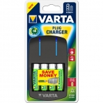Зарядное устройство VARTA Plug Charger+4хАА 2100 мАч