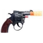 Игрушечный пистолет (10 см). Для пистонов. В пакете с еврохолдером.