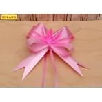 Бант-бабочка Классика (3 см.) розовый БЛ-8090