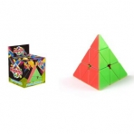 Головоломка Пирамида яркая, выс. 8 см, кор.