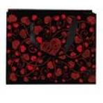 Пакет подароч с сердечками 150*145*70